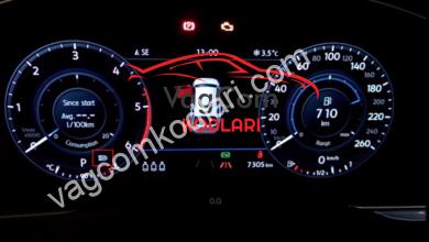 Photo of Passat B8 Uzun far asistanın sıfırlanmasını önleme